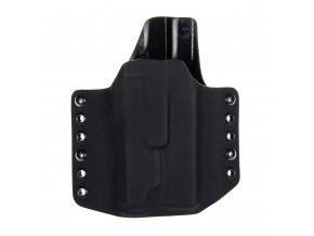 Kydexové pouzdro na zbraň Glock 17/22/31 se svítilnou INFORCE APL - vnější, černá