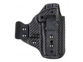 IWB - vnitřní kydexové pouzdro na Glock 43 - poloviční sweatguard - ns - u - dráp - carbon