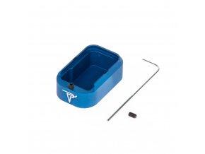 Botka/Dno zásobníku Glock 43 - modrá