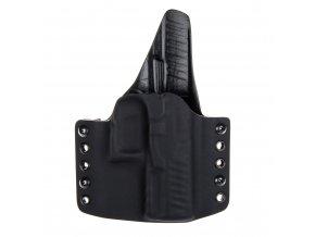 Kydexové pouzdro na zbraň Walther PPQ se sweatguardem - vnější, černá