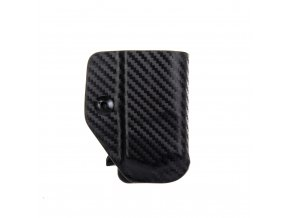 Kydexové pouzdro na zásobník Glock 43 - vnitřní, carbon