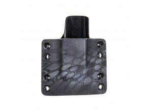 Kydexové pouzdro na zásobník Glock 19/23/32 - vnější, kryptek typhon/černá