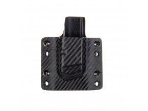 Kydexové pouzdro na zásobník Glock 19/23/32 - vnější, carbon/černá