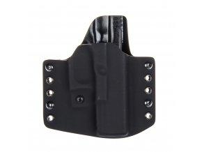 Kydexové pouzdro na zbraň Glock 19/23/32 s nastavením svoru - vnější, černá