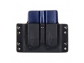 Kydexové pouzdro na zásobníky CZ Shadow 2 - vnější, černá/police modrá