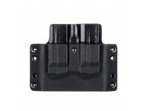 Kydexové pouzdro na zásobníky Smith & Wesson M&P9 SHIELD - vnější, černá