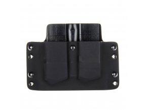 Kydexové pouzdro na zásobníky Glock 21 - vnější, černá