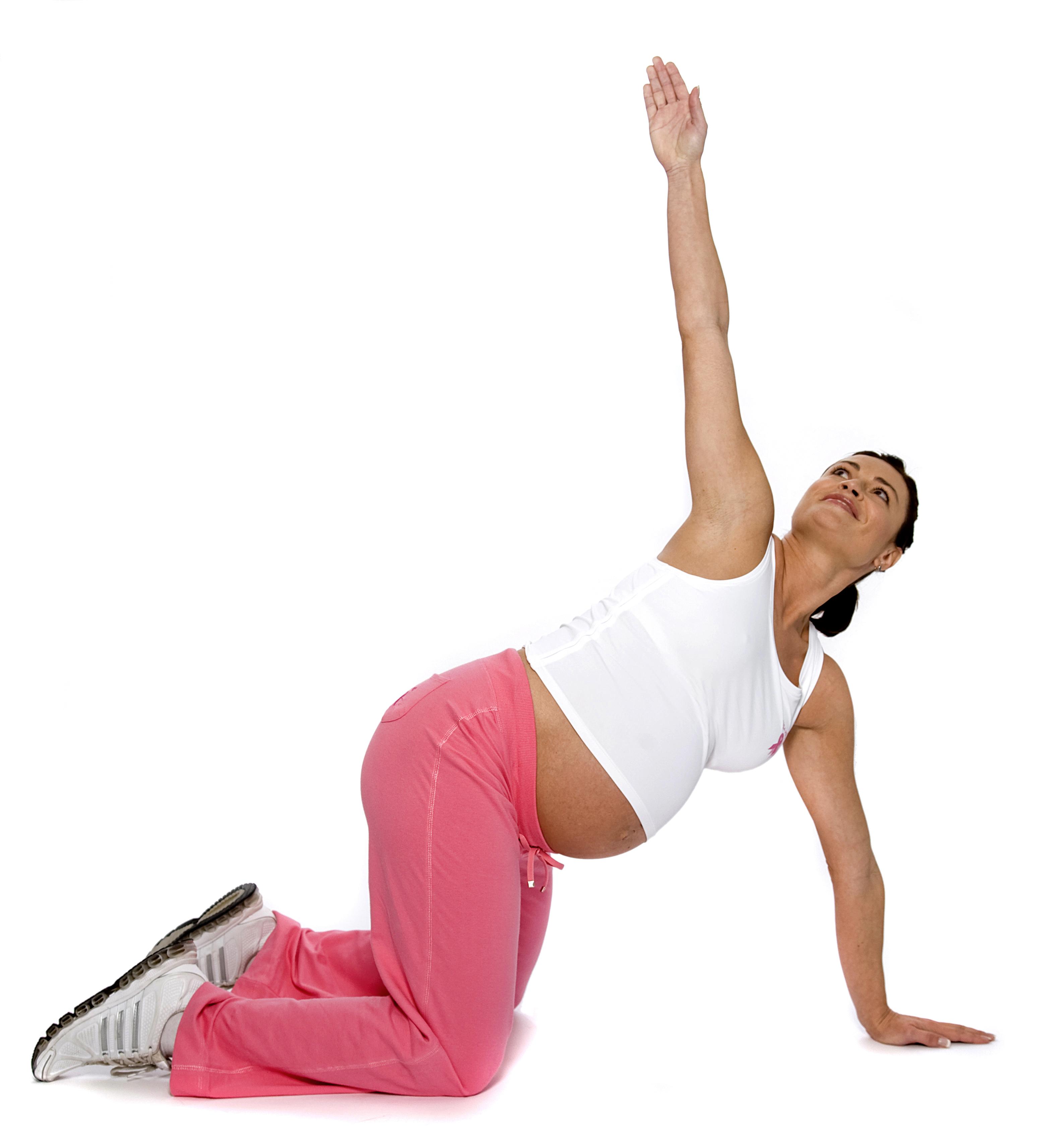 Těhotenské cvičení