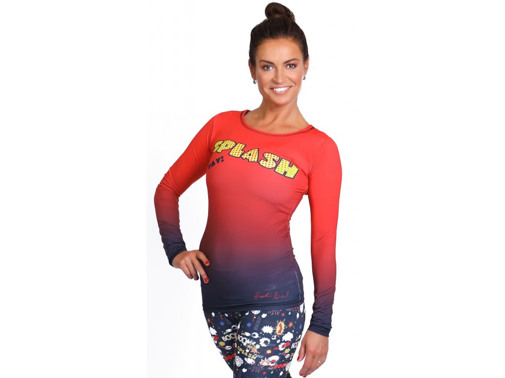 SPLASH - sportovní triko s dlouhým rukávem