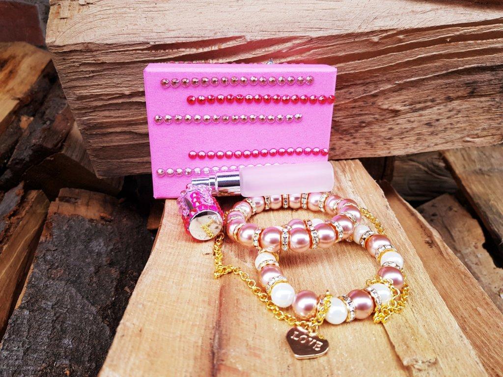 Rosily Box šperků s flakonkem1