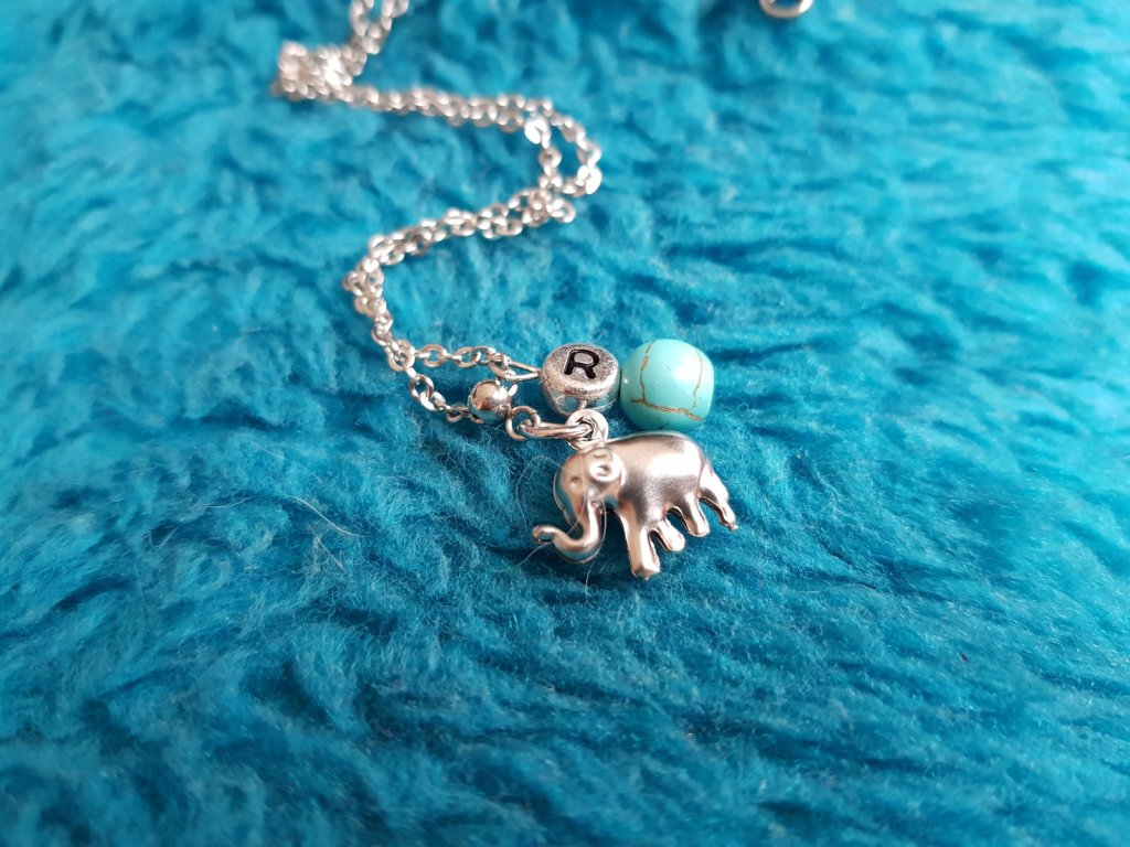 Bimbo Chlapecký náhrdelník (chir. ocel, tyrkys)1