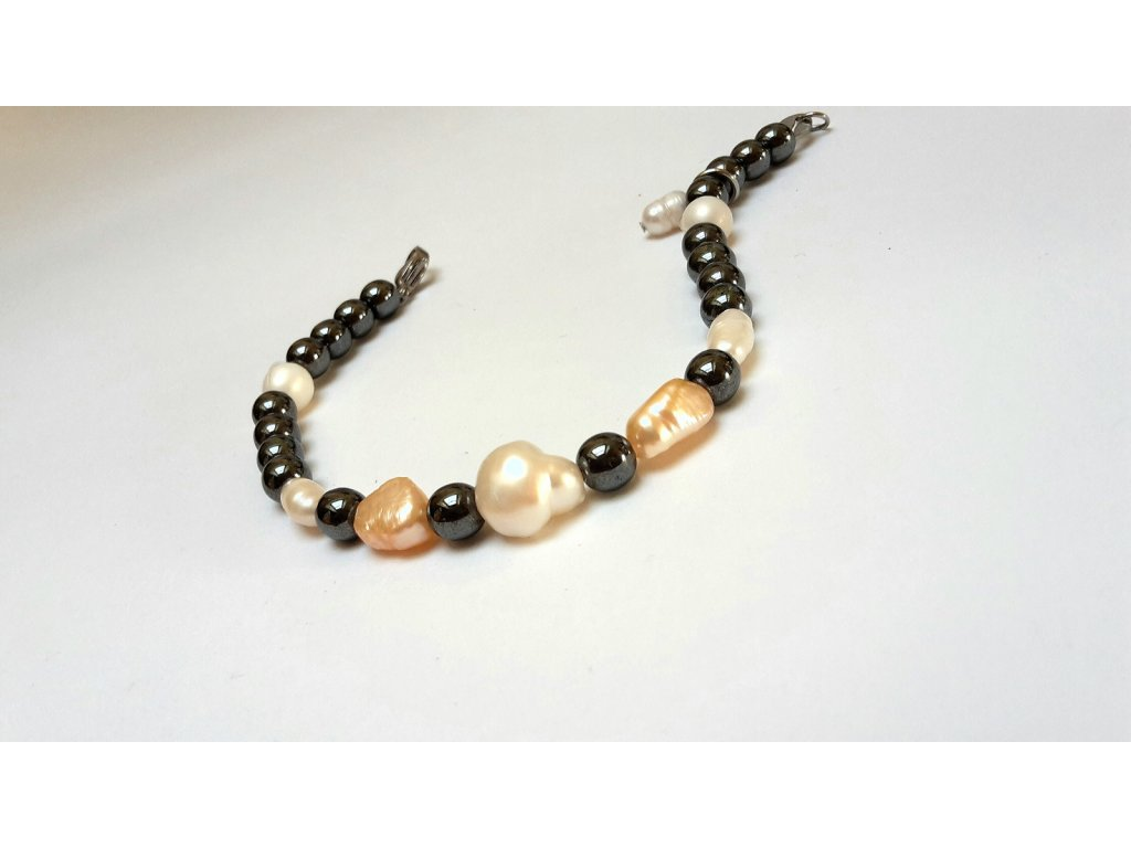 854 4 naramek paloma hematit perly