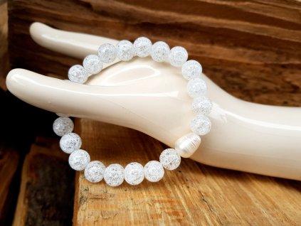 Papet 2 Náramek (křišťál, říční perla)1