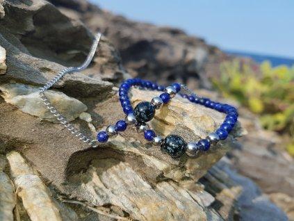 1247 6 mikha souprava ocel lapis lazuli avanturin