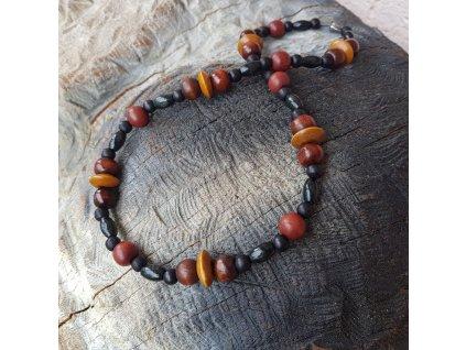 Endy Pánský náhrdelník (dřevo)1