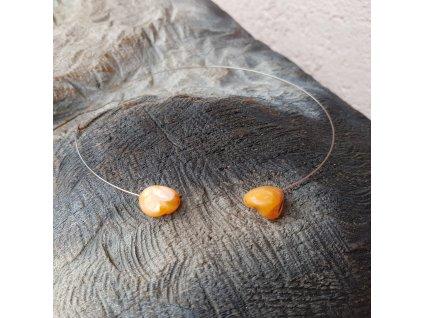 Levitace 3 Náhrdelník (perleť, ocel)1