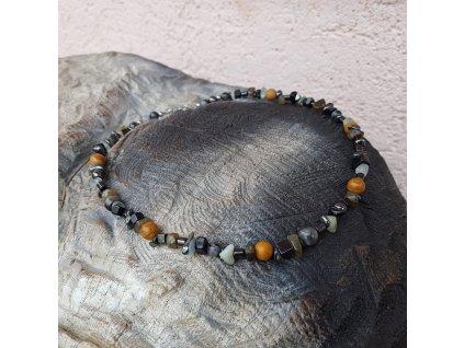 Todd Pánský náhrdelník (mix minerálů)1