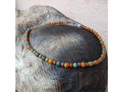 Ray Pánský náhrdelník (santal, minerály)1