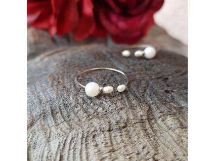 Levitace perlení Prstýnek (perly, perleť)1