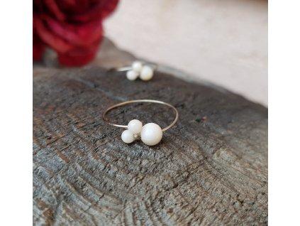 Levitace perlení 2 Prstýnek (perleť)1