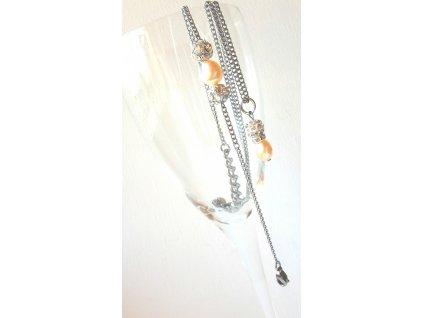 497 souprava vernost ocel a perly