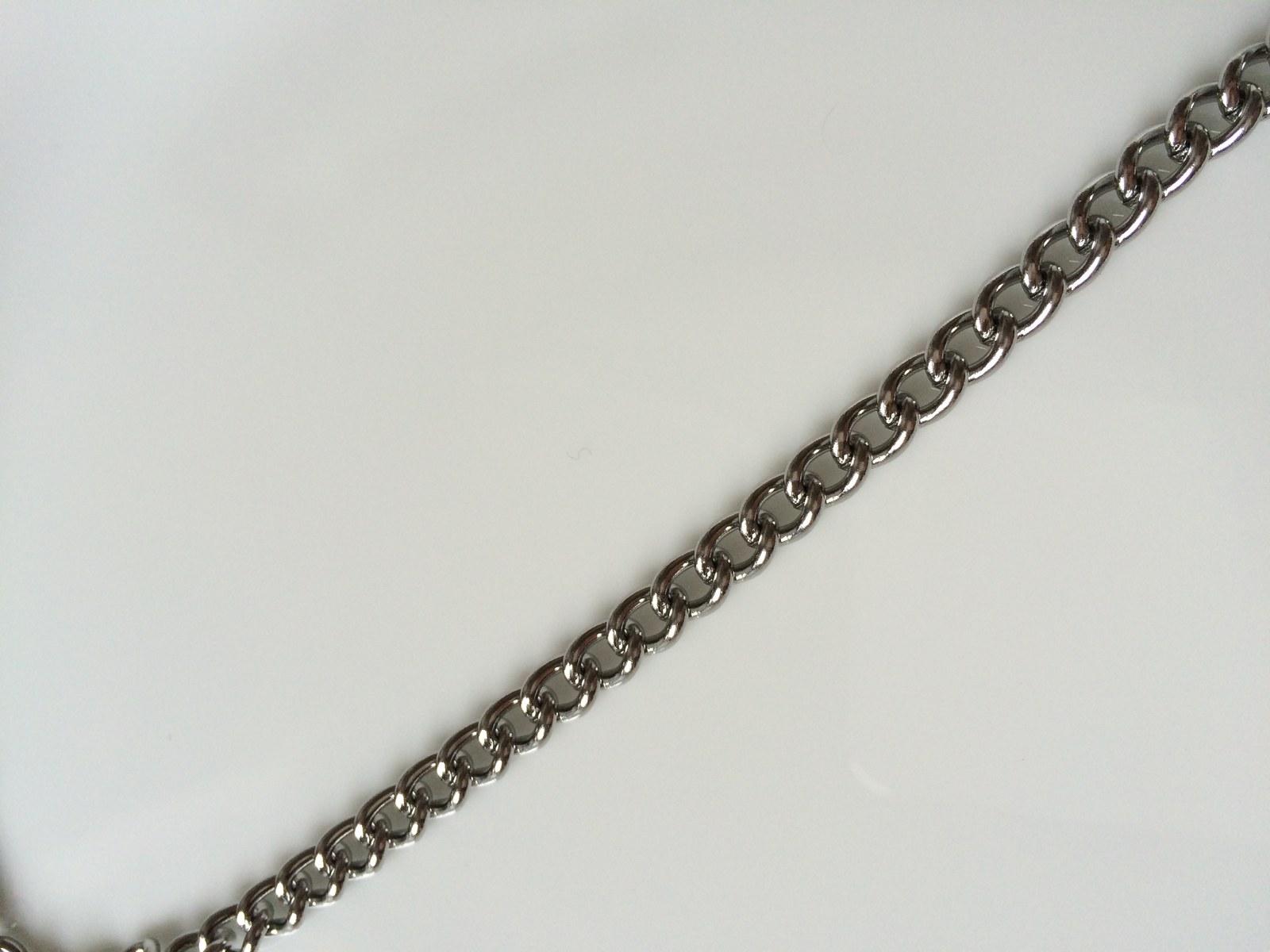 Řetízek z nerezové oceli délka 50 cm, šíře 4,5 mm