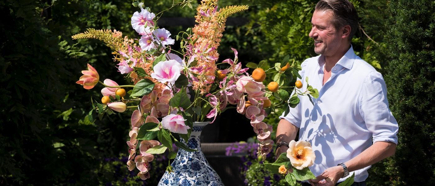 Hedvábné květiny SILKKA