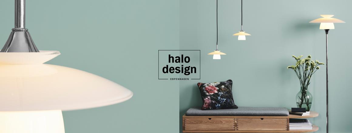 halo design osvětlení - dánská světla, lustry, lampy - skandinávský design