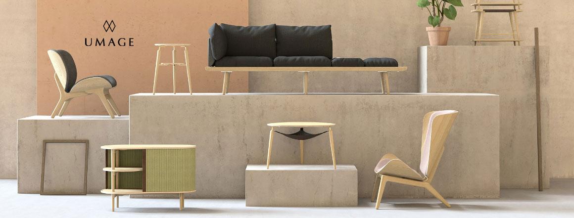 umage severský designový nábytek