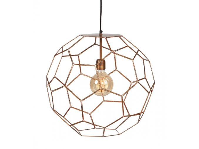 Stropní lampa Marrakesh měděná