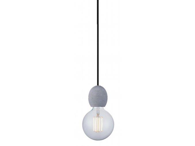 Stropní lampa Light Cable Set šedá, beton