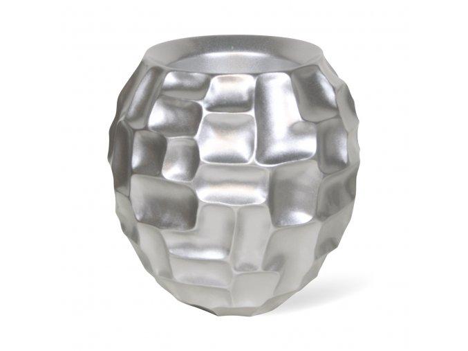 Mosaic stolní květináč Metallic Silver