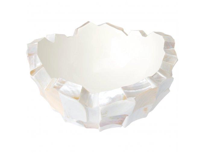 Shell kulatá miska White