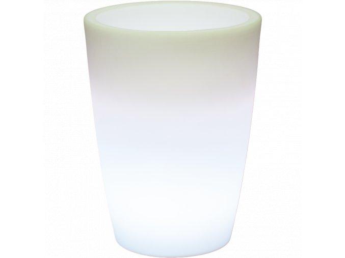 Lumenio Led svítící květináč Transluzent/Multicolor