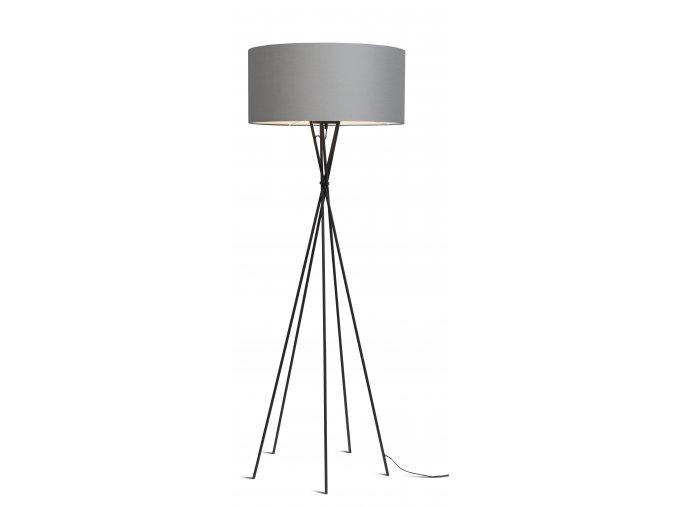 Stojací lampa Lima černá 6030 různé barvy světle šedá