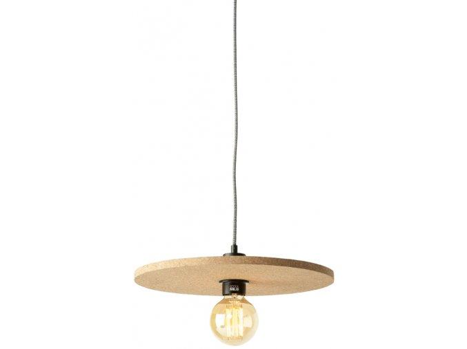 Stropní lampa Algarve světlý korek