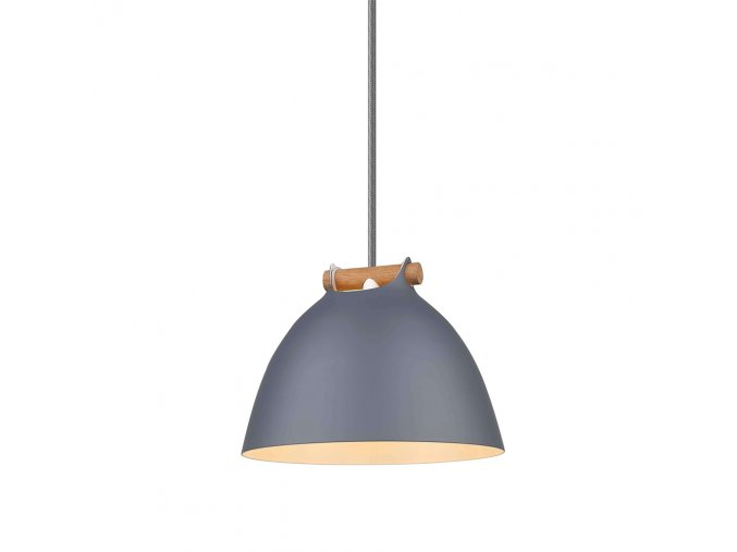 Stropní lampa Århus šedá/přírodní