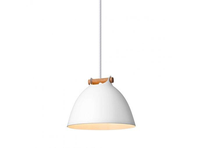 Stropní lampa Århus bílá/přírodní
