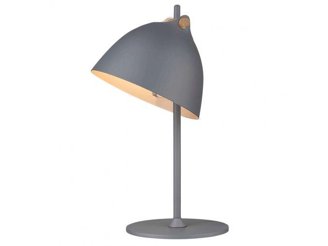 Stolní lampa Århus šedá/přírodní