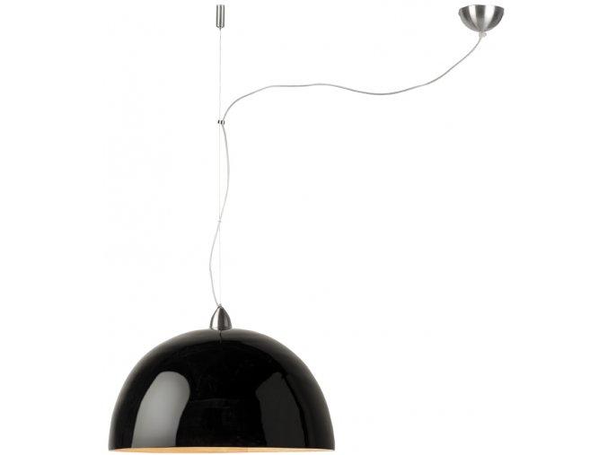 Lampa Halong černá