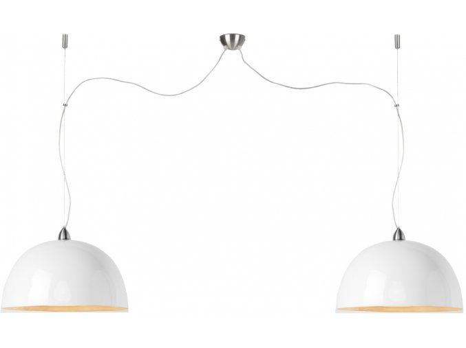 Lampa Halong bílá dvojmontáž