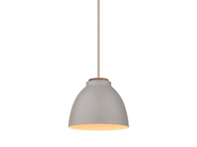 Stropní lampa Nivå šedá/přírodní