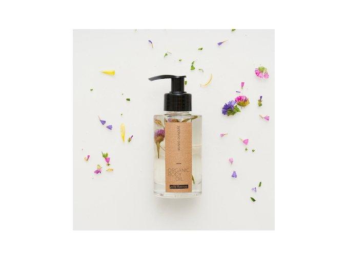 Přírodní tělový olej - divoké květiny