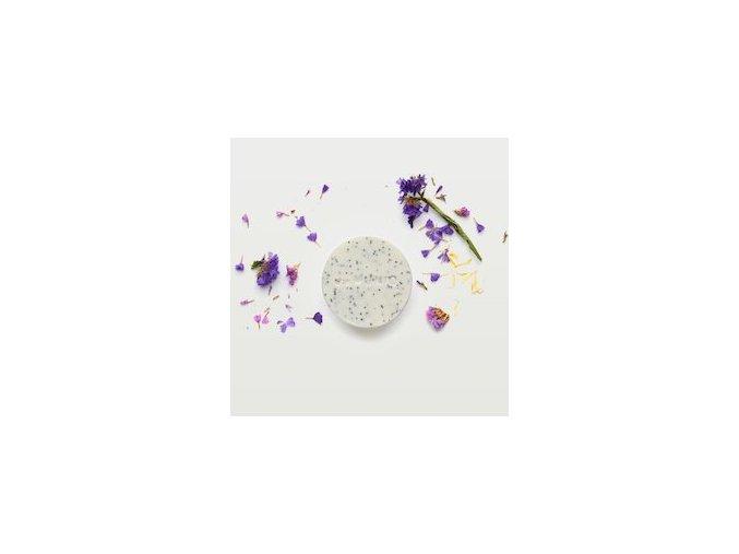 Přírodní peelingové mýdlo - divoké květiny