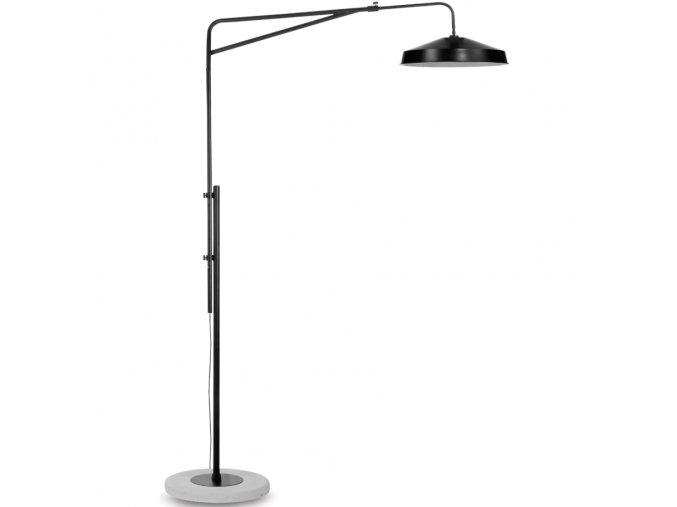 Stojací lampa Brighton černá