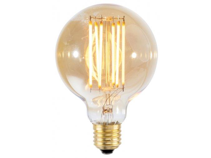Retro LED žárovka kulatá vel. L