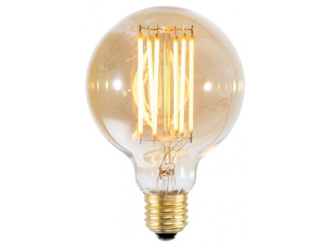 Retro LED žárovka kulatá vel. S
