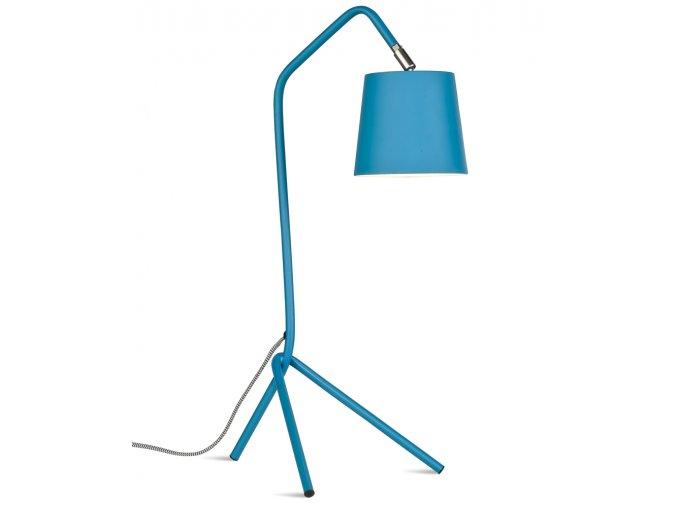 Stolní lampa Barcelona modrozelená