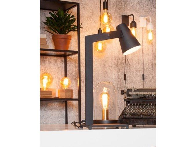 Stolní lampa Biarritz černá