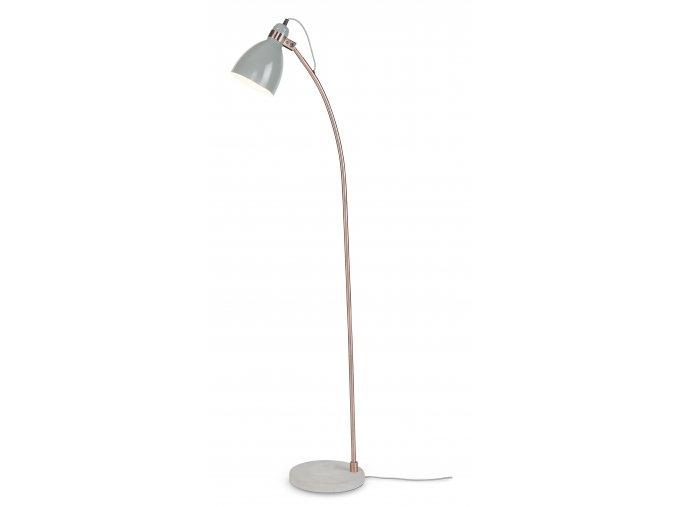 Stojací lampa Denver šedá